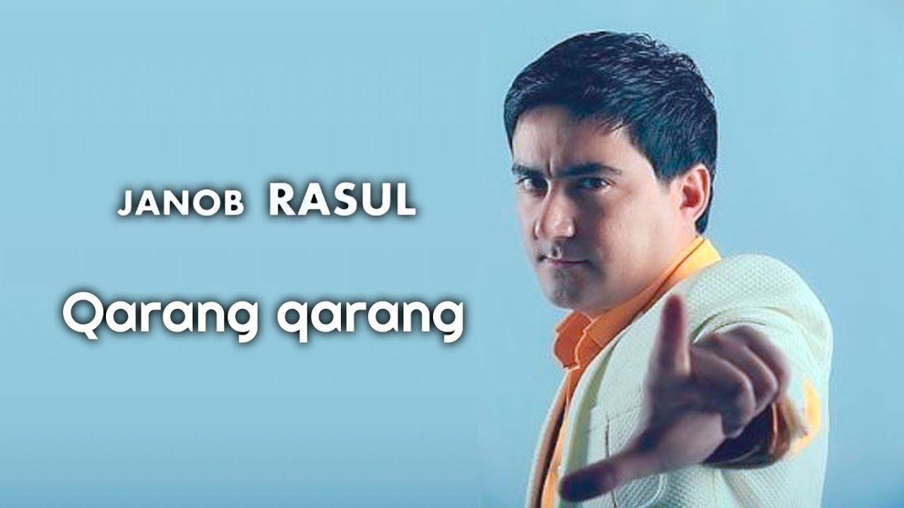 Janob Rasul - Qarang qarang (Concert version)