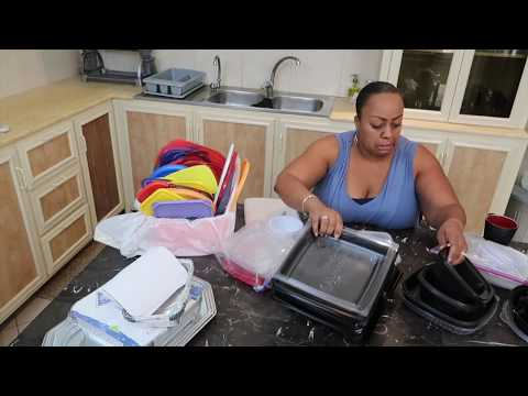 Organizing Kitchen Cabinets | Disposable Food Containers  | Clutterbug Day 2 | Hoarder to Homemaker