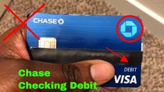 ✅  Chase Banking Debit Visa Card Review 🔴