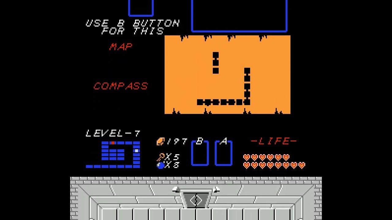 Cute Legend of Zelda - Level-7 (Second Quest)