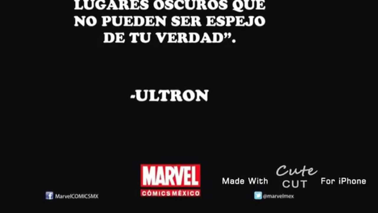Frases De Superhéroes De Marvelparte 1 Youtube