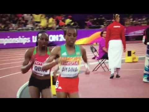 Hellen Obiri wins 5000m Women Final IAAF World Champs London 2017