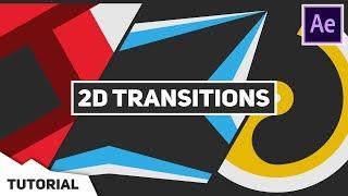 Yeni Başlayanlar İçin After Effects (yeni) Oluşturmak 2D Geçişler HAYIR EKLENTİLERİ GEREKLİ | Ücretsiz Şablon |