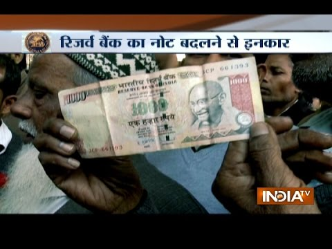 Demonetisation: Reserve Bank Of India Office Refuses To Exchange Notes
