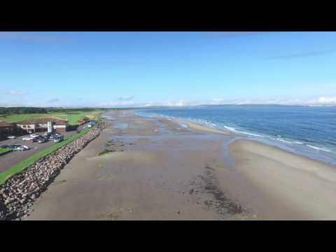 Nairn Beach And The Moray Firth