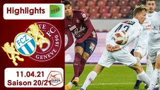 Highlights: FC Zürich vs Servette -Genf FC (11.04.21)