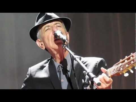 Leonard Cohen - The Partisan, live at Wembley Arena, London 2012