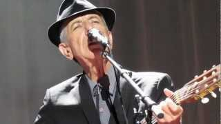 Leonard Cohen - The Partisan, live at Wembley Arena, London 2012