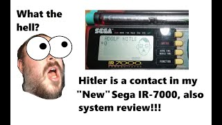 Sega IR-7000 Messenger: Hitler is a contact!!?? System Review