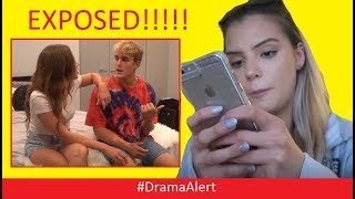 One of DramaAlert's most viewed videos: Jake Paul & Erika Costell EXPOSED by Alissa Violet #DramaAlert RiceGum vs Team 10 - KSI vs Sidemen!