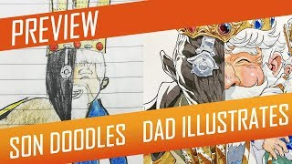 DRAWING with my kids - DOUBLE KING [PREVIEW] No.53