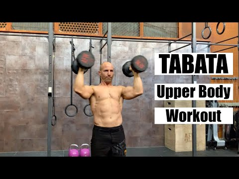 TABATA Upper Body Workoutw/Italo Naibo