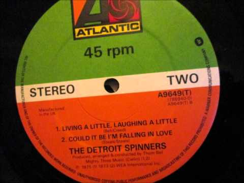 The Detroit Spinners - Living a little, Laughing a little. 1975