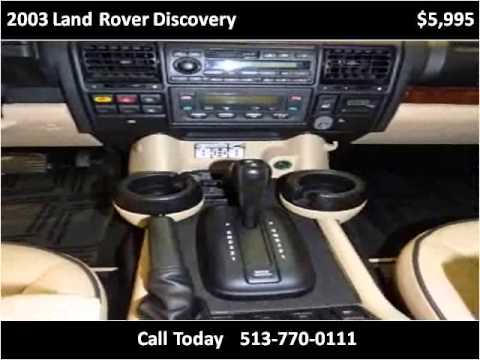 2003 Land Rover Discovery Used Cars Cincinnati OH