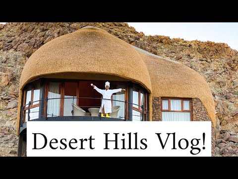 Places to Visit in Namibia Series - Twinfluencers Desert Hills Vlog