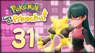 САБРИНА, ПСИХИЧЕСКИЙ ГИМ - Pokemon: Let's Go, Pikachu #31 - Прохождение (ПОКЕМОНЫ НА НИНТЕНДО СВИЧ)