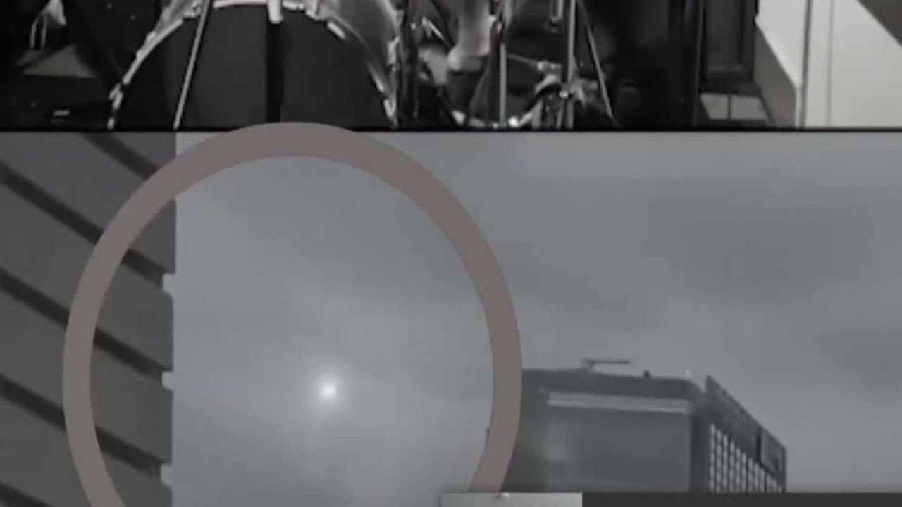 UFO Appears Behind Band During Live Feed In Mexico!?