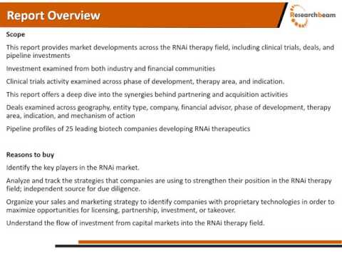 The Best Therapist Advice for Biotechnologies Antisense RNAi