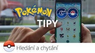 Pokémon GO: hledání a chytání pokémonů