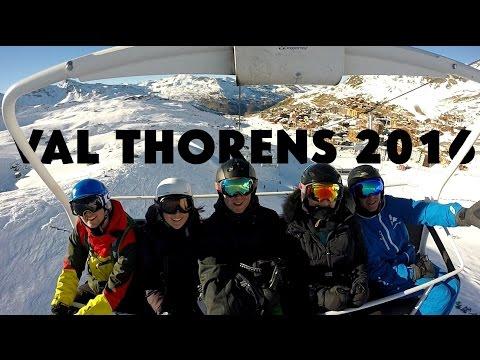 Reading University Ski Tour 2016 - Val Thorens