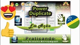 Repeat youtube video CorelDraw Como Criar Numeração Sequencial - Macro Power Duplicate