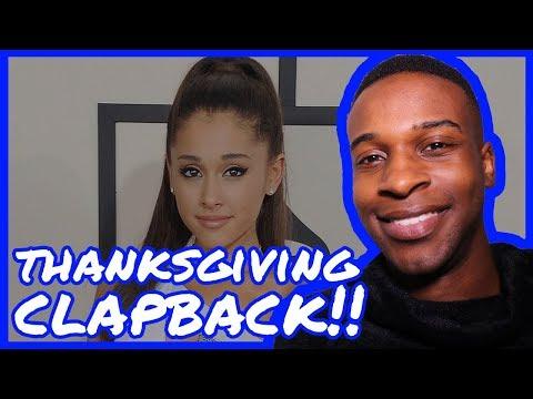 Happy Thanksgiving!, Ariana Grande Reads, Ellen Pompeo Speaks + More