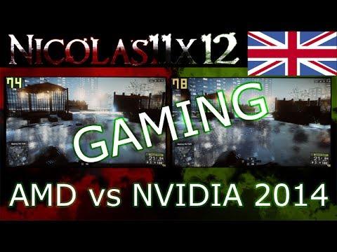 AMD vs NVIDIA 2014  GAMING 