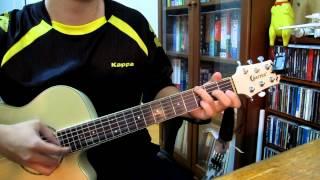 [吉他演奏] 周杰倫's 簡單愛 (FJ's Guitar Workshop, 模仿陳俊羽老師改編的版本)