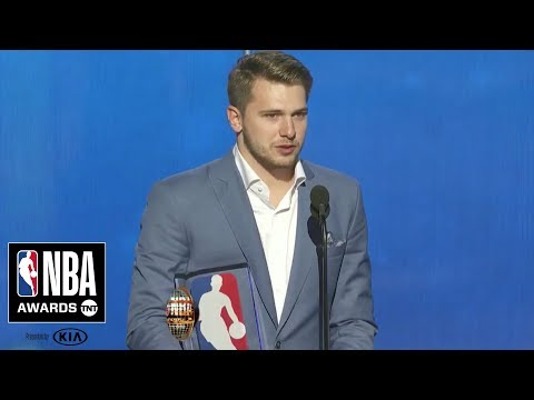 Luka Doncic Wins Rookie of the Year   2019 NBA Awards