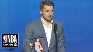 Luka Doncic Wins Rookie of the Year | 2019 NBA Awards