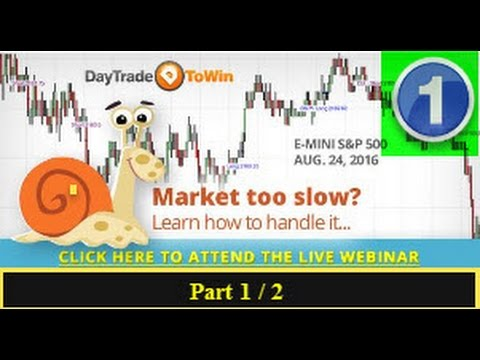 How to Trade Slow Moving Choppy Markets Part 1
