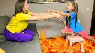 The Floor is Lava challenge. И другие забавные истории в сборнике от Маши и мамы