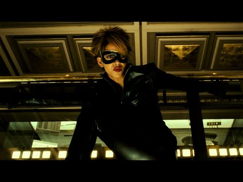 Best movie scenes - Catwoman (2004) - The leathersuit-bikedrivingscene (1080 HD)