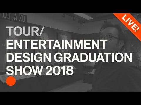Entertainment Design Graduation Show 2018