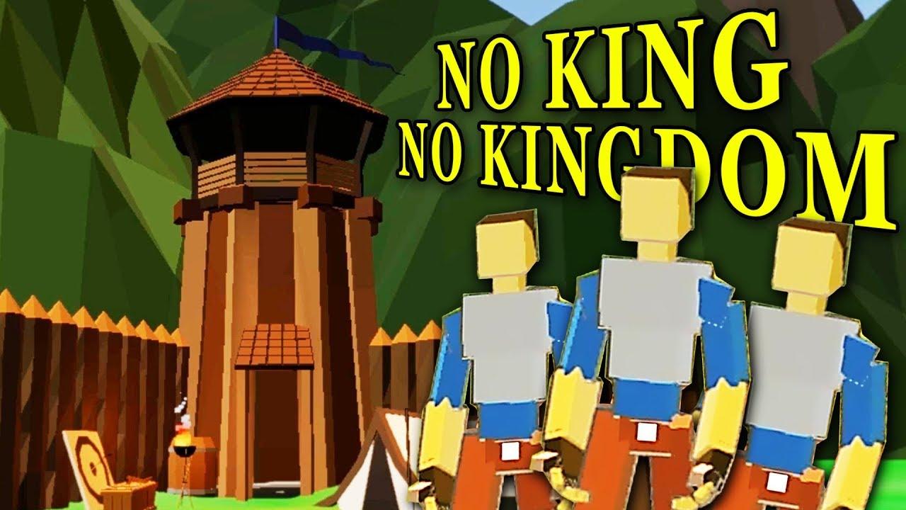 BUILDING the BEST Kingdom EVER! - No King No Kingdom Gameplay