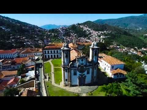 SOBREVÔO DE DRONE EM OURO PRETO - MG