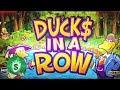 Duck$ in a Row classic slot machine