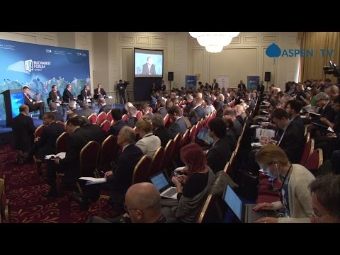 "Plenary session: ""Western Liberal Order under Siege?"" at Bucharest Forum 2016"