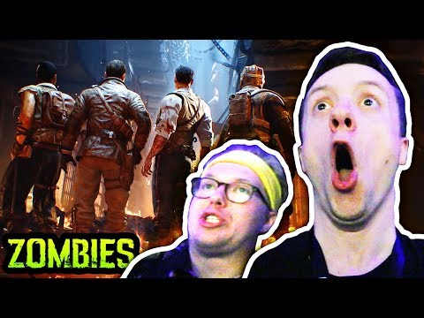 BLACK OPS 4 ZOMBIES: BLOOD OF THE DEAD TRAILER FULL REACTION (MOB OF THE DEAD REMAKE TRAILER BO4)