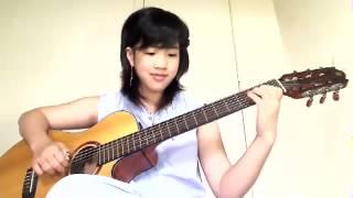 Cô Bé Mùa Đông -  Virginia Nguyễn Guitar