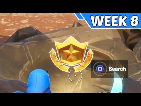 Secret Season 10 Week 8 Battlestar Location Guide - Fortnite Battle Royale