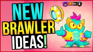NEW BRAWLER That Uses LIGHTNING!? 8 AMAZING Ideas for New Brawlers!