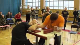 Армрестлинг. Группа 1. Вес свыше 90 кг до 35 лет sports.dp.ua