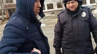 Драка с нюхачами Полиции Красноград