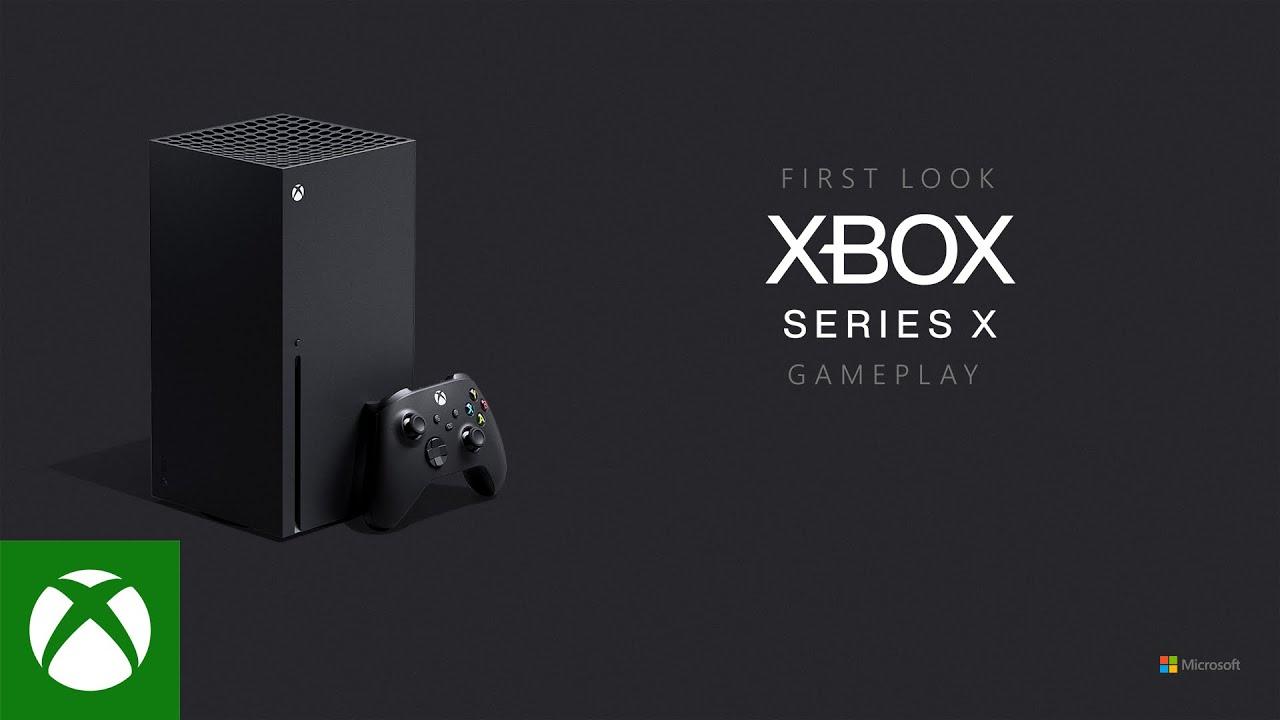 Microsoft revela os primeiros jogos para Xbox Series X