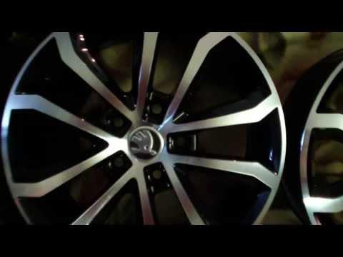 Литые диски и шины для Volkswagen модель Golf VI