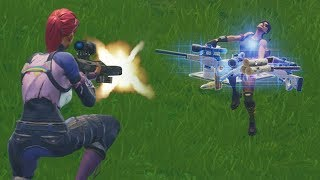 THE HEAVY SNIPER IS THE BEST SNIPER IN FORTNITE