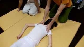 Обучение массажу. Спина. Часть 5. Курсы тайского массажа