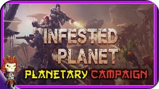 INFESTED PLANET | Planetary Campaign | Top Down Sci-FI RTS Game