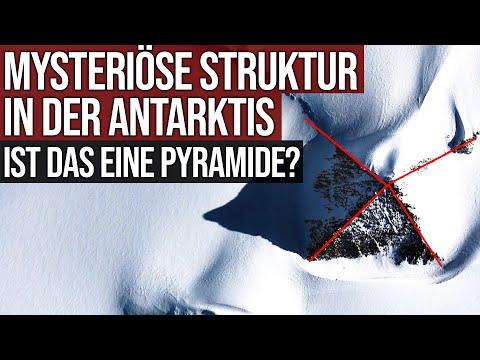 Mysteriöse Struktur in der Antarktis - Ist das eine Pyramide?